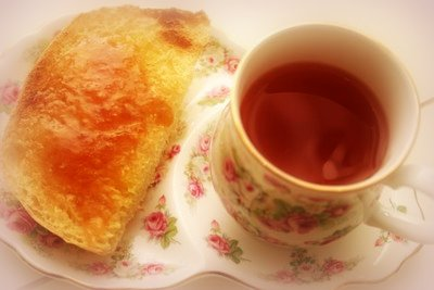 Tea and Toast in The Morning!