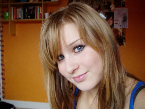 Back when I was 15: dodgy eye-liner and all!