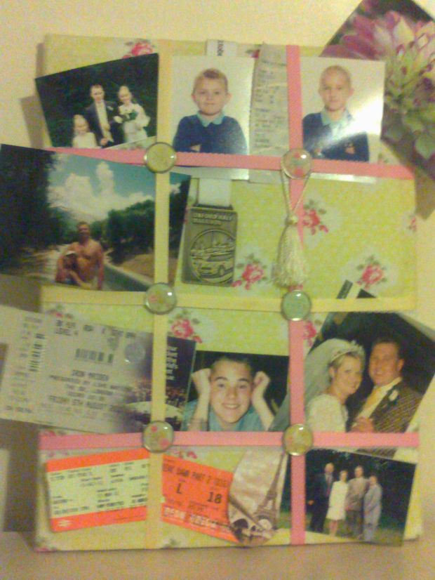 My Picture Board! 1 of a kind!