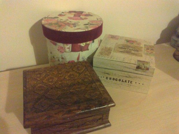 A few of my Trinket Boxes! =)