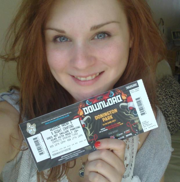 ME AND MY TICKET!!!!!!!!!!!!!!!