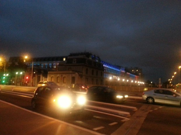 Lyon by night!